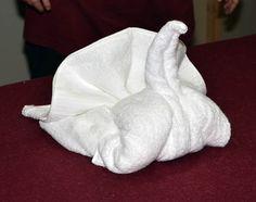 How to make a Towel Turkey