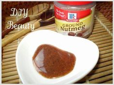 DIY Beauty: Nutmeg to erase acne scars health-and-beauty-tips Diy Natural Beauty Hacks, Beauty Hacks For Teens, Diy Beauty, Beauty Skin, Beauty Care, Beauty Ideas, Beauty Blogs, Women's Beauty, Face Beauty