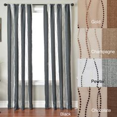 Shop for Vastitude Stripe Rod Pocket 84-inch Curtain Panel. Get free delivery at Overstock.com - Your Online Home Decor Outlet Store! Get 5% in rewards with Club O!