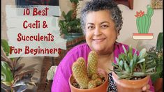 10 Best Succulents & Cacti for Beginners Balcony Garden, Cacti, Container Gardening, House Plants, Sassy, Succulents, Videos, Youtube, Cactus Plants