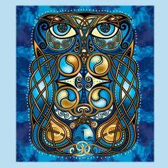 Celtic Art by Welsh artist Jen Delyth - Celtic Tree of Life and Keltic Designs Catalog