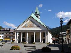 Chiesa di Santo Stefano di Cadore Belluno Dolomiti Veneto Italia