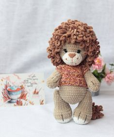 Items similar to Stuffed lion baby toy, Cute lion nursery decor, Baby shower gift on Etsy Crochet Lion, Crochet Toys, Tier Zoo, Lion Nursery, Lion Toys, Cute Lion, Unique Toys, Lion Cub, Small Boy