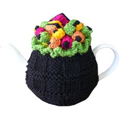 ❄Knit Tea Cosies, Mug Hug Snugs and Cuppa Cosies. . ❥