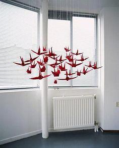 Paper Crane Decor