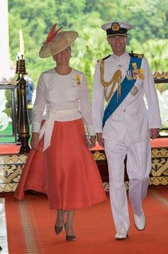 The Earl & Countess of Wessex (Prince Edward & Sophie)