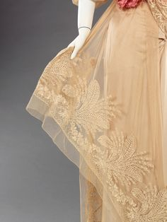 Mme Jeanne Paquin, evening gown, 1912. MET