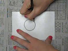 Styrofoam Printmaking Demo by Art Class with Ms. S.