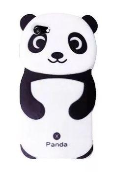 forro iphone 4 4s 5 5s oso panda samsung s3 grande