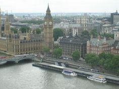 Big Ben and Houses of Parliament because I'd stop by London too