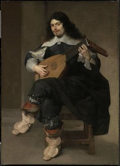 Lute Player about 1640  Jean de Reyn, French, about 1610–1678