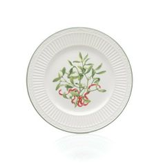 Mikasa Italian Countryside Mistletoe 7.75-Inch Salad Plate by Lifetime Brands. $11.84. The Mikasa Italian Countryside Mistletoe dinnerware has fluted bands of this dinnerware and column-like detailing recall classical Italian architecture. Made from High Quality Stoneware. 1 Mikasa Italian Countryside Mistletoe Salad Plate. Dishwasher and Microwave Safe. Italian Countryside is one of the top-selling patterns nationwide and for Mikasa. The Mikasa Italian Countryside Mistletoe 3...