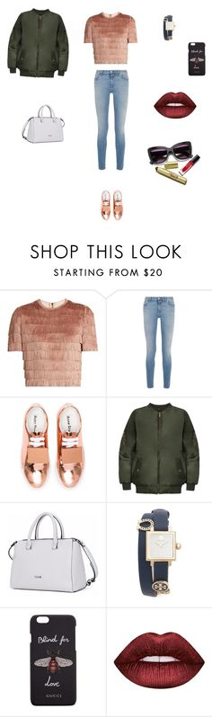 """Untitled #3755"" by smaranda-panfil ❤ liked on Polyvore featuring Raey, Givenchy, Acne Studios, WearAll, Tory Burch, Gucci and Lime Crime"