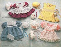 Annie's Attic DELICATE DRESSES Crochet by patternpeddlerannex