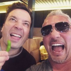 """Ewwwwww! @jimmyfallon"" Photo taken by @cesarsway on Instagram, pinned via the InstaPin iOS App! http://www.instapinapp.com (01/30/2015)"
