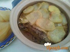 Recept za Musaku sa pečurkama. Za spremanje ovog jela neophodno je pripremiti krompir, pečurke, luk, pavlaku, jaja, so, biber, peršun, suvi biljni začin.