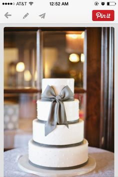 Cake-with ribbon. Easy. I could do this.