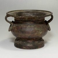 Antique Chinese Copper Incense Burner #2036