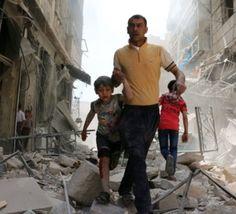 بمباران+حلب+سوریه+توسط+جنگنده+های+روسیه