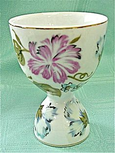 Floral Double Egg Cup