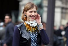 Marni for H flower necklace