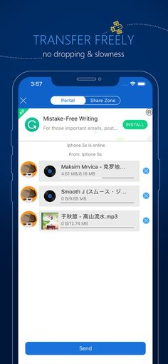 SHAREit - Connect & Transfer on the AppStore Thanks For Your Advice, Shareit App, Download Shareit, Mobile Data Plans, 100 Songs, Listening To Music, App Store, How To Take Photos, Iphone 5s
