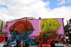 Jason Botkin (photo © Daniel Esteban Rojas) - Montreal 2013 Mural festival