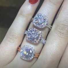 Is a Morganite Engagement Ring Right for You? Middle one - stay AWAY from the rose gold TREND...
