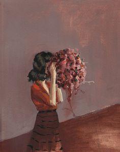 Paintings by California-based artistClare Elsaesser. More images below.         Clare Elsaesser's Website Clare Elsaesser on Facebook Clare Elsaesser on Instagram Via Slow Show
