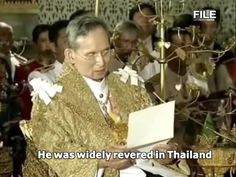 Tearful eyes, sad faces... Thais are mourning the death of their King Bhumibol Adulyadej. Many say there's no monarch as great as His Majesty. Find out what the Thai people say about their king who ruled the country for seven decades.