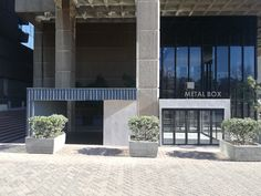 METAL BOX – Schematic Design Schematic Design, Container Architecture, Metal Box, New Shop, New Builds, Coffee Shop, Construction, Mansions, House Styles