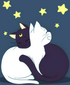 Sailor Moon Luna And Artemis Wallpaper Image Gallery - HCPR