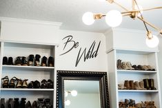 Shannon Jenkins of Upbeat Soles does a closet office reveal and shows how you can convert a spare bedroom into a closet with an Ikea Billy Bookcase hack Bedroom Turned Closet, Spare Room Closet, Spare Bedroom Closets, Dressing Room Closet, Shoe Room, Closet Office, Closet Space, Closet Rooms, Bedrooms