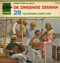 De Zingende Zeeman - The singing sailor. Dutch LP cover