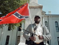 Outspoken black advocate for the Confederate flag killed in Miss. car crash - The Washington Post Southern Heritage, Southern Pride, My Heritage, Confederate Monuments, Confederate Flag, Confederate Statues, American Civil War, American History, American Flag
