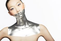 Images For > Futuristic Makeup