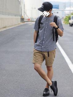 インスタ→shingo__115 Man Style, Sporty, Mens Fashion, How To Wear, Male Style, Moda Masculina, Man Fashion, Guy Style, Style Men