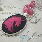 Pinkki yksisarvinen 25€ #pink #unicorn