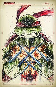Teenage Mutant Ninja Turtles - Raphael by Rob Duenas