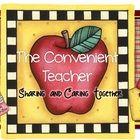 """""""Follow my Blog! The Convenient Teacher""""...."""