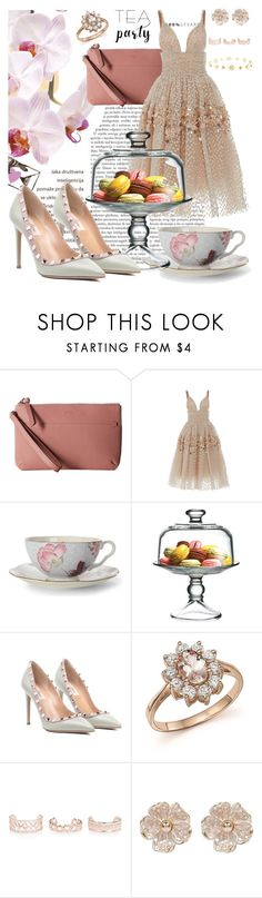 """Tea Party"" by thekabaothao ❤ liked on Polyvore featuring interior, interiors, interior design, home, home decor, interior decorating, ECCO, Carolina Herrera, Wedgwood and The Cellar"