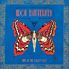 Iron Butterfly - Live At The Galaxy 1967 on Limited Edition Colored 180g LP