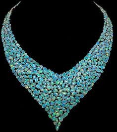 Australian opal  V n beauty bling jewelry fashion