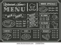 Chalkboard Stock Vector images and vector clip art   Shutterstock