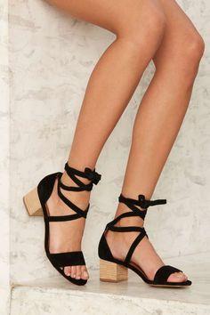 Siren Nevada Suede Heel - Shoes | Heels | Sandals | Spring Smackdown | Swim Shop