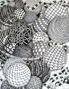 patternprints journal: AN INTERESTNG BOARD ON PINTEREST FOR LEARN HOW TO DESIGN TANGLE PATTERNS
