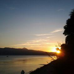 Μαγευτικο ηλιοβασιλεμα