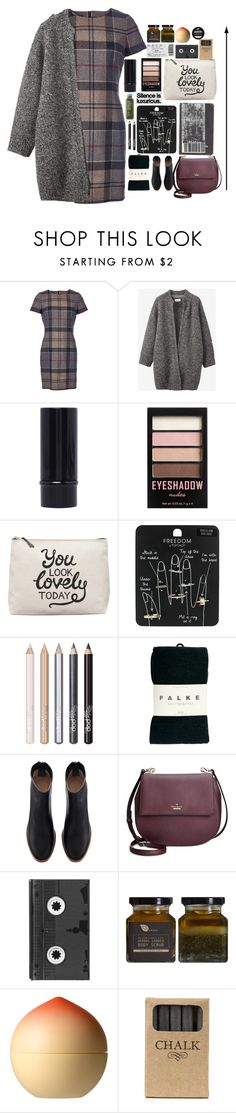 """""""Taxi please!!!"""" by living-in-the-seaxx on Polyvore featuring Barbour, Toast, H&M, Topshop, Pop Beauty, Falke, Kate Spade, Luckies, Tony Moly and Jayson Home"""