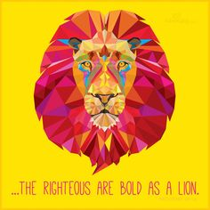 Prov 28:1  The wicked flee though no one pursues,     but the righteous are as bold as a lion.