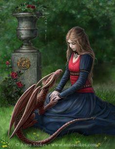 Dragons - Demoiselle Moyen Age